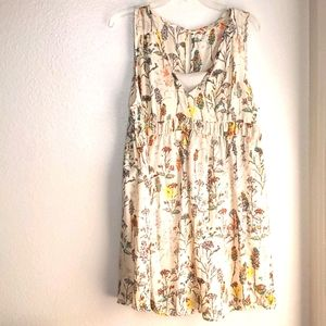 NWT Entro spring wishes floral sz M swing dress